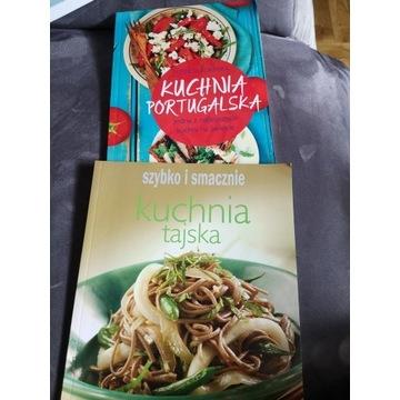 Kuchnia tajska, kuchnia portugalska 2 szt