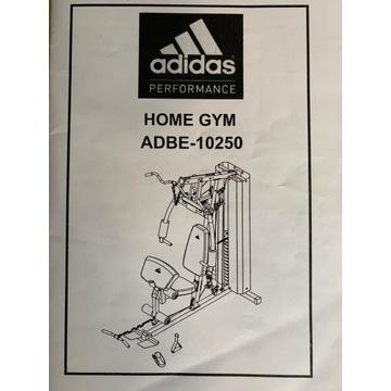 Atlas do ćwiczeń ADIDAS Home Gym ADBE-10250