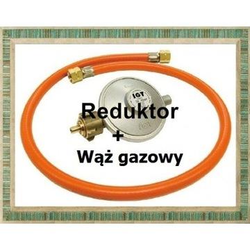 Wąż+r5eduktor do grilla gazowego HG016