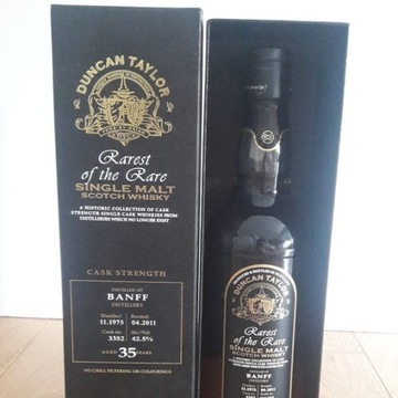 Banff 1975 Duncan Taylor 35 Year Old 700ml