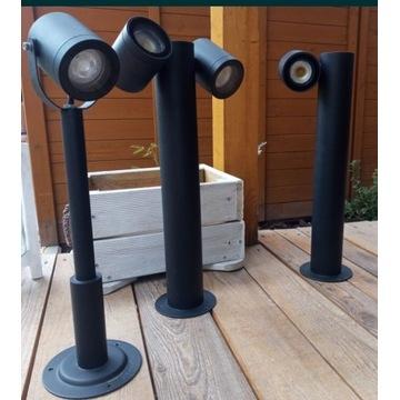 Nowoczesne lampy ogrodowe wysokość 44 cm