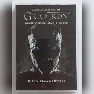GRA O TRON SEZON 7 DVD PL