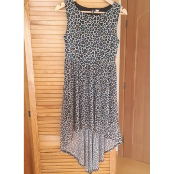 H&M- DIVIDED niesymetryczna sukienka r.M