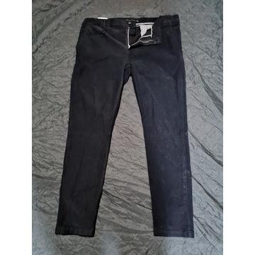 Spodnie Męskie ZARA Slim Fit Czarne L