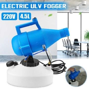 Elektryc. zamgławiacz ULV + płyn do dezynfekcji 5L