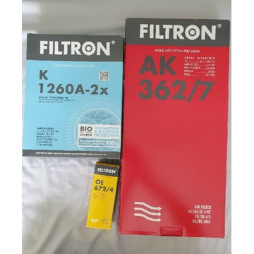 Filtry Bmw F10 F11