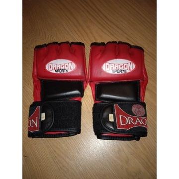 Rękawice MMA grapling używane