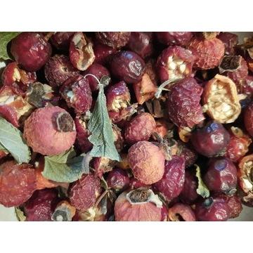 Owoc róży, róża suszona, 200 g, produkt eko