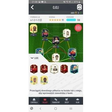 Fifa 20 konto ultimate team