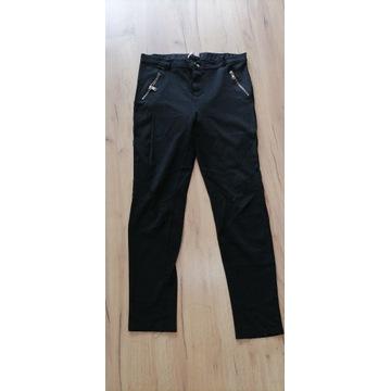 legginsy spodnie czarne używane noszone fetysz
