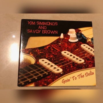 Kim Simmonds and Savoy Brown Goin' To The Delta CD
