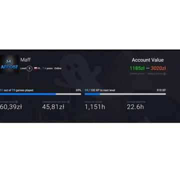 Konto steam duża ilość gier wszystkie dodatki ETS2