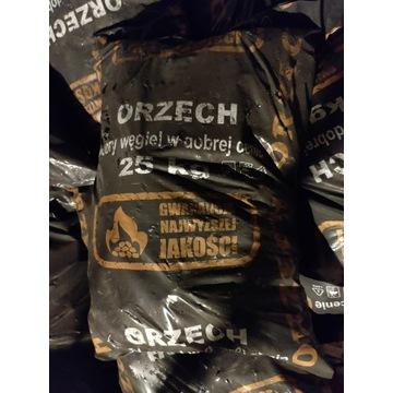 Węgiel kamienny Orzech workowany 25 kg