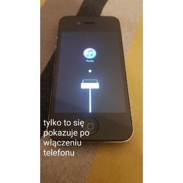 Zepsuty telefon Iphone 4 Model A1387 64gb