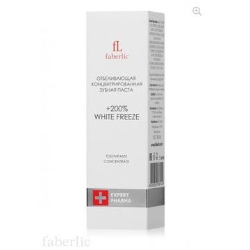 Wybielająca pasta do zębów White Freeze FABERLIC