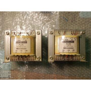 PARA. Transformatory głośnikowe LO SE  100-1/B