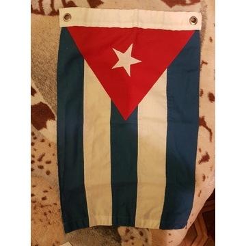 FLAGA KUBY LA BANDERA DE CUBA OK. 48x30 CM Z KUBY!