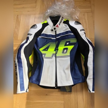 Dainese D1 Valentino Rossi VR46 nowa skóra perfor.