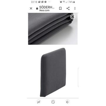SÖDERHAMN IKEA pokrycie oparcia, Samsta grafit