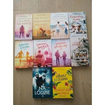 Zestaw 10 książek literatura kobieca
