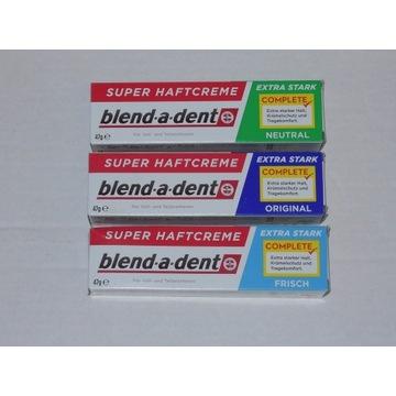 Kleje do protez blend-a-dent produkt z Niemiec