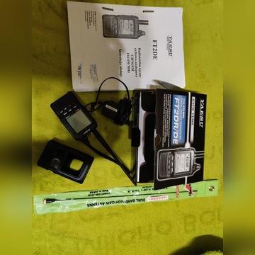 Yaesu FT2DR/DE, gwarancja +antena, instrukcja PL