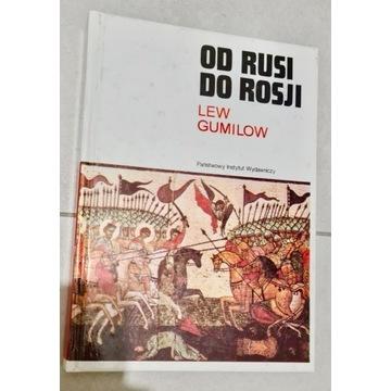 """Lew Gumilow - """"Od Rusi do Rosji"""" OKAZJA!"""