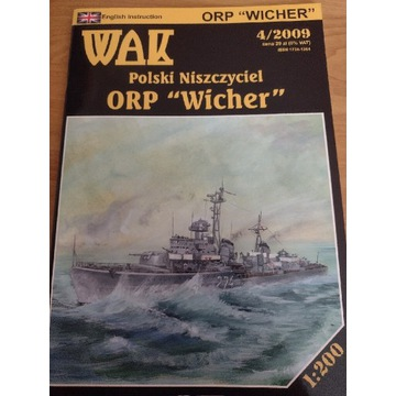 Model kartonowy WAK Wicher