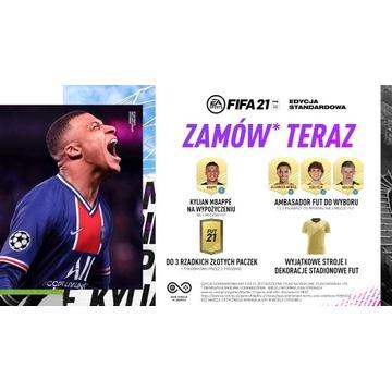 FUT złote paczki stroje do Fifa 21  *PS4