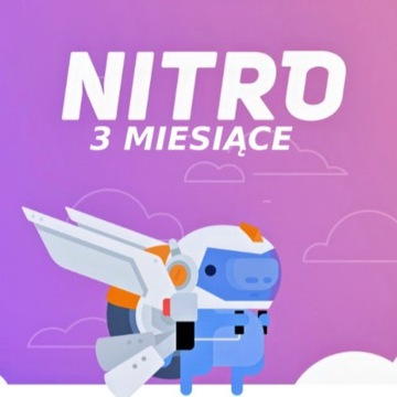 Discord Nitro Boost 3 Miesiące