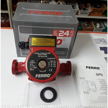 Pompa obiegowa do C.O. FERRO 25-40 180