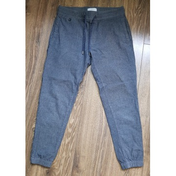 męskie spodnie materiałowe - Esprit- 32