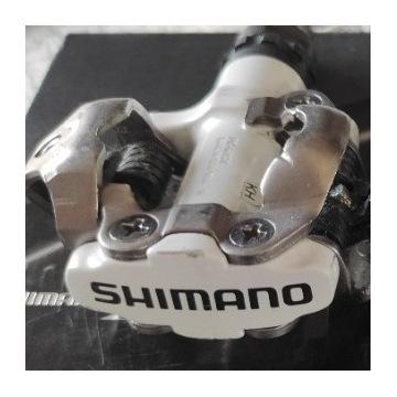 pedały shimano PD-M520 białe
