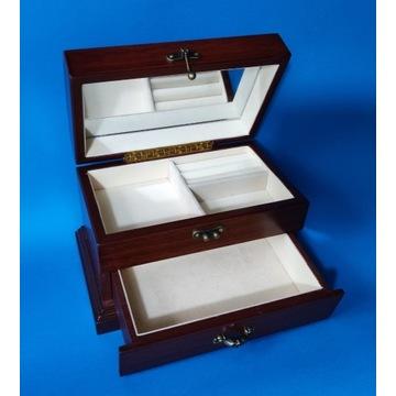 Szafka, komoda ,szkatułka drewniana na biżuterię