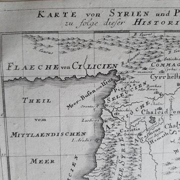 Stara mapa Syrii