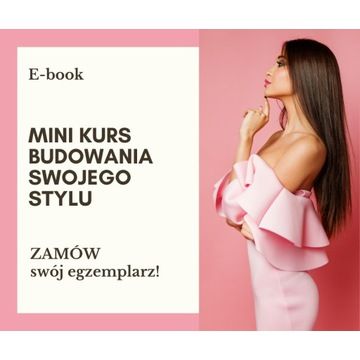 E-book Mini kurs budowania swojego stylu