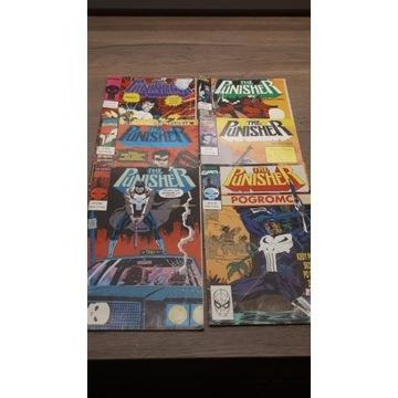 Komiksy stare Punisher - 6 szt