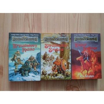 Forgottem Realms zestaw 15 książek