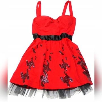 Sukienka ASOS czerwona 44 XXL 16