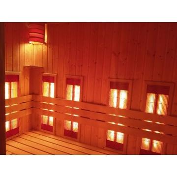 Sauna Infrared na podczerwień