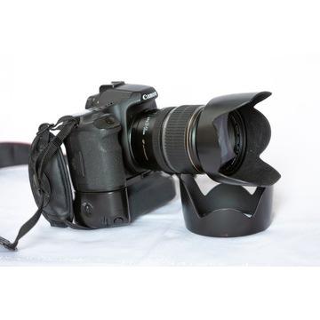 Canon 50d + 17-55 2.8 IS USM + grip + karta zestaw