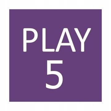 Doładowanie Play 5 PLN za 4