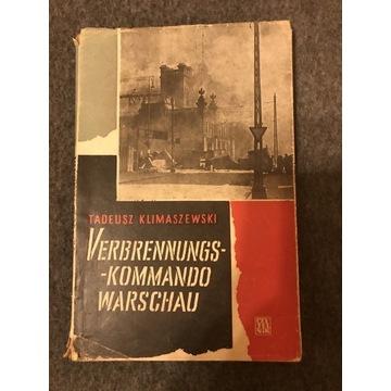 Verbrennungs Komando Warschau Tadeusz Klimaszewski