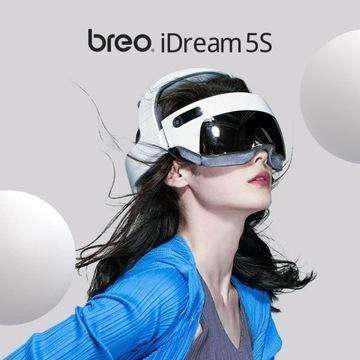 Masażer Breo iDream 5s - Nowy - głowa, kark, oczy