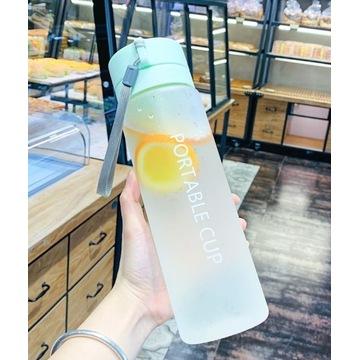 Butelka bidon na wodę, sok 800 ml BPA FREE