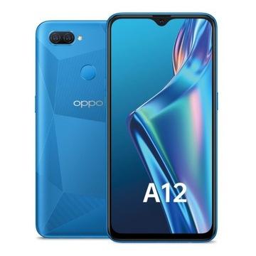 Telefon Oppo A12 DS Blue 3/32GB 4230 mAh PL FV23%