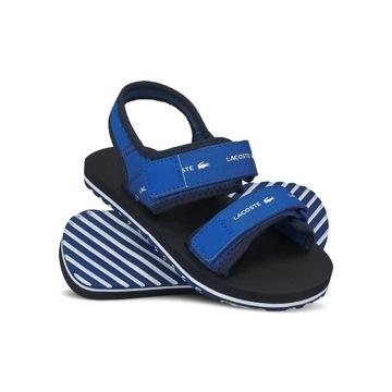 Sandały Lacoste sandałki SOL 220 rozmiar 29