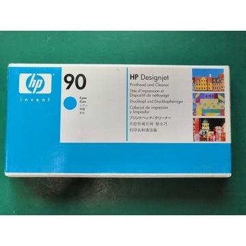 HP 90 Głowica + Czyścik, CYAN, C5055A