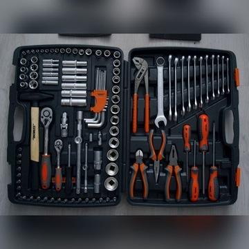 Zestaw narzędziowy Sthor 58690 122 elementy