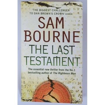 Sam Bourne The Last Testament,  książka